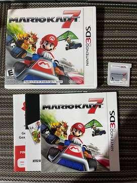 Mario Kart 7 Nintendo 3DS Como Nuevo Original