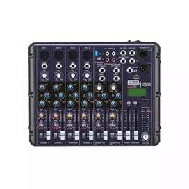Micrófono Inalámbrico Profesional Uhf y  Consola England Sound EA-MR8F-