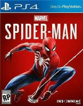 Spiderman Playstation 4 Ps4, Físico