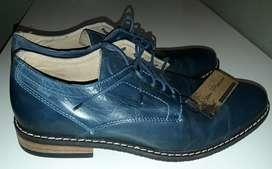 Zapatos Azules Stone Premium