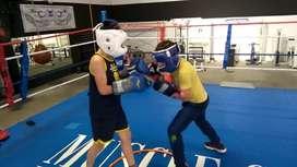 Clases de boxeo para niños y gente desde 0