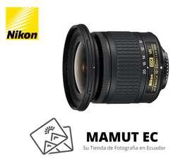 Nikon Lens Af-p Dx Nikkor 10-20mm F/4.5-5.6g VR