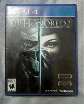 Vendo O Cambio Dishonored 2 ps4