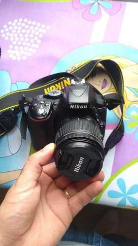 Vendo o permuto camara Nikon profesional D5300