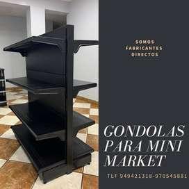 GONDOLAS PARA MINI MARKET