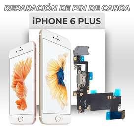 ¡Cambio de Pin de Carga de Iphone 6 Plus!