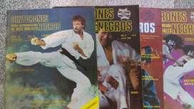 revista hispano americana de artes marciales CINTURONES NEGROS