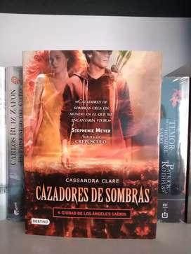 Cazadores de sombras 4 ciudad de los ángeles caídos Libro