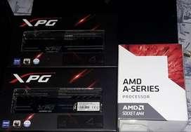 Memoria ddr4 + Micro A8 9600¡¡¡