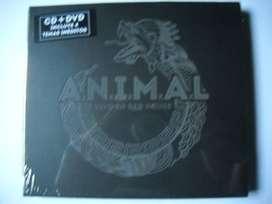 animal vivo red house cd + dvd sellado