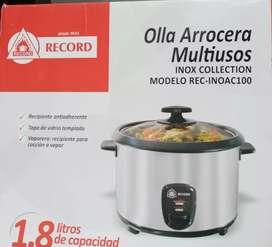 Record-Olla arrocera multiusos REC-INOA100