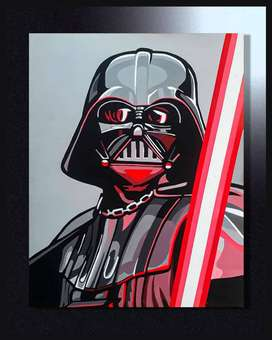 CUADRO DECORATIVO DARTH VADER STAR WARS