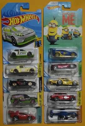 Hot Wheels Lote 10 carros Ediciones Pasadas Nuevos Coleccionables L4