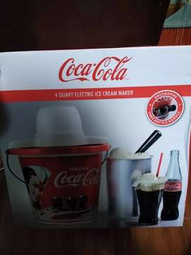 Maquina de helados nostalgia coca-cola