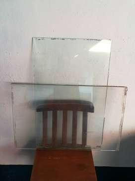 Vidrios Trasparentes 6 lineas, 8 cada uno poco uso.