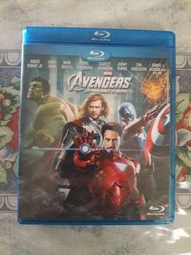 Blu-ray The Avengers Los Vengadores De Marvel