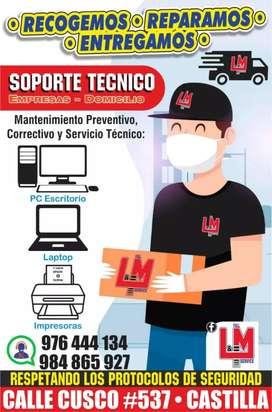 SOPORTE TÉCNICO / Empresas &  Domicilio