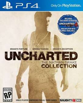 Uncharted Nathan Drake Collection Playstation 4 Ps4, Físico