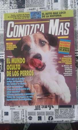 Revista Conozca Mas Año 1994 Numero 66 El Mundo Oculto De Los Perros
