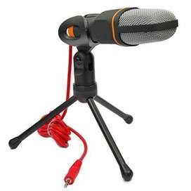 Micrófono condensador para sonido podcasts, PC, Portátil, Skype, MSN