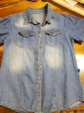 Camisa Jean Nena