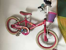 bicicleta Barbie rodado 16