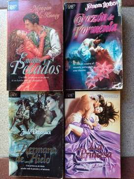 Novelas románticas de bolsillo