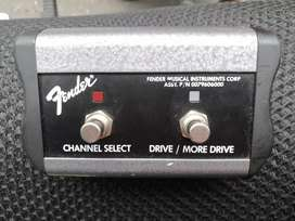 Pedal Footswitch Fender para Amplificadores