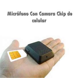 Microfono con Camara Oculto Sin Limites De Distancia