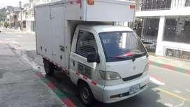Camioneta con Furgón placa publica, modelo 2009, km 115000