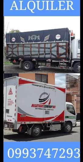 Transporte  Mudanzas Viajes Alquiler de Camiones