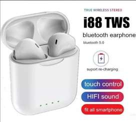 Auriculares Bluetooth 5.0 I88 Tws