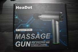 Pistola de masaje tejido profundo