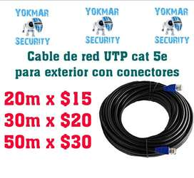 Cable de Red Utp Cat5e para Exterior