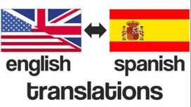 Hago traducciones inglés/español cualquier nivel
