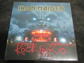 iron maiden rock in rio lp