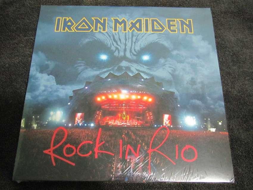 iron maiden rock in rio lp 0