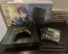 Xbox one S Edición Battlefield
