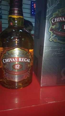 Botella de Wisky CHiVA 1litro