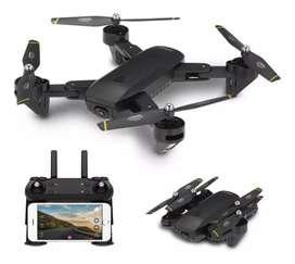 Drone Dm107s Doble cámara control remoto WiFi 1080p