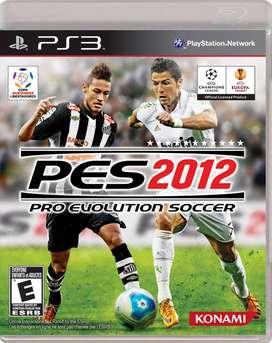 Pes 2012 Pro Evolution soccer 2012 ps3