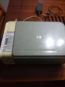 Multifuncional HP usada para arreglo