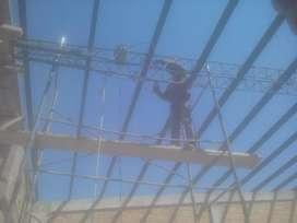 Trabajos de construcciones y demoliciones herreria en gral