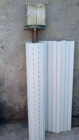 Cortina americana blanca de 2 metros sin uso