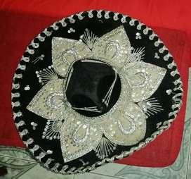 Sombrero mexicano para Mariachi talla mediana
