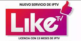 Liketv directo A tu Smart o TV box DEMOS GRATIS