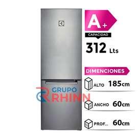 ELECTROLUX Refrigeradora Bottom Freezer 312L ERT32G2KSQS