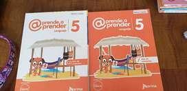 Libro de español norma aprender a aprender 5