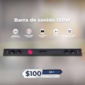 Barra de sonido LG SK1D, 2.0 canales, 100W de potencia, Bluetooth, TV Sound Sync