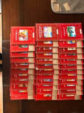 ANTEOJITO-BIBLIOTECA DE ORO DEL ESTUDIANTE- 35 LIBROS      TODOS X $ 750.-